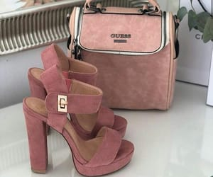 bag, shoes, and pink image