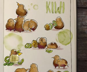 cute, kiwi, and picolo image