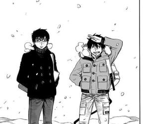 rin, manga, and yukio image