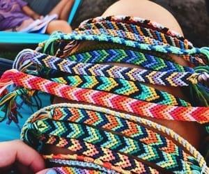 bracelet, summer, and friendship image