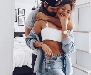 fashion, love, and couple goals image