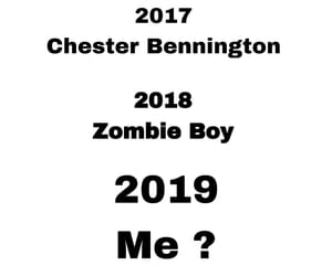 chester, zombie boy, and suicide image