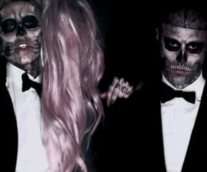 heart, Lady gaga, and zombie boy image