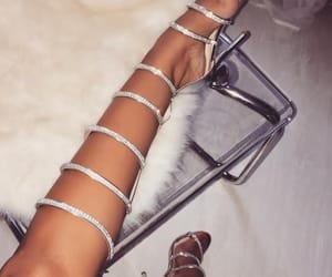 diamonds, legs, and luxury image