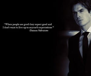 damon salvatore, the vampire diaries, and damon image