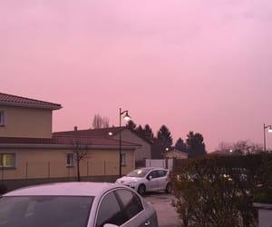 pink, sky, and pinksky image