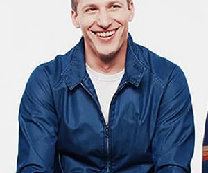 actor, andy samberg, and funny face image
