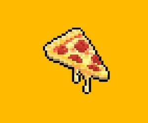 pizza, wallpaper, and yellow image