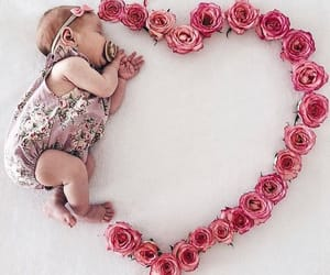 baby, love, and heart image