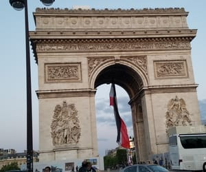 arc de triomphe, backpacking, and beautiful image