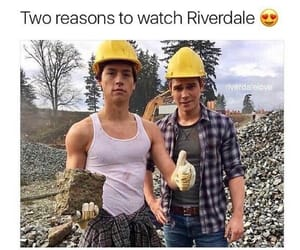 series, riverdale, and cole sprouse image