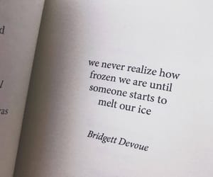 frozen, ice, and words image