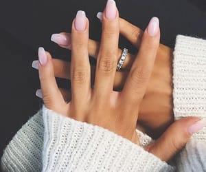 nails, ring, and natural image