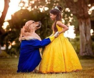 disney, beauty and the beast, and dog image