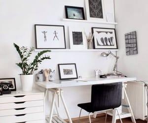 design, desk, and home image