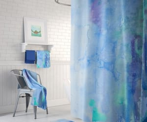 bath, shower curtain, and popular shower image