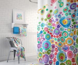 bath, shower curtains, and etsy image