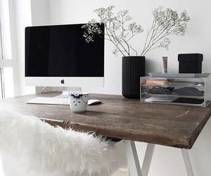 design, office, and desk image