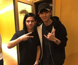 exo, skrillex, and park chanyeol image
