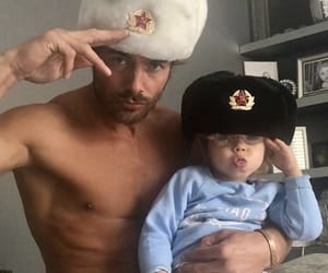 daddy, man, and Hot image
