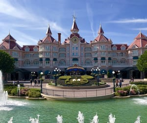 castle, disney, and palace image