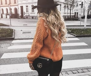 autumn, fashion, and hat image