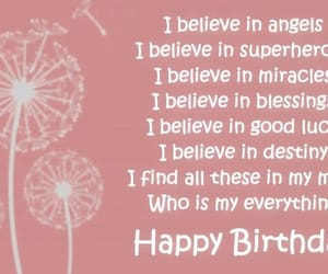 happy birthday mom, cute, and birthday quotes for mom image