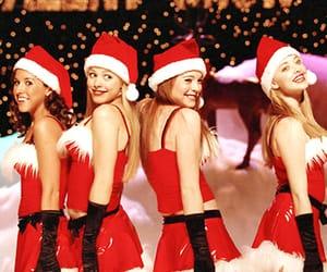 mean girls, christmas, and lindsay lohan image