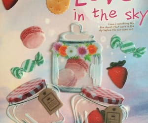 mini bottle, creative gift, and bottle sticker image