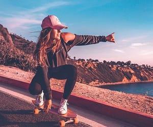 beauty, board, and girl image