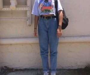 outfit, aesthetic, and 90s image