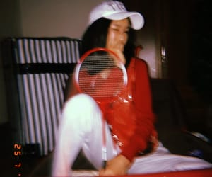 badminton and red image