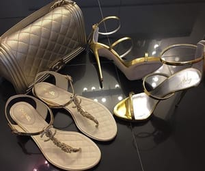 accessories, bags, and high heels image