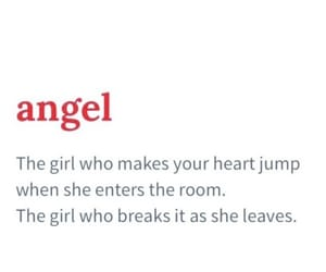 angel, quote, and love image