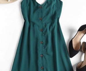detailed, green, and fashion image