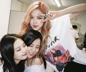 rose, jennie, and blackpink image