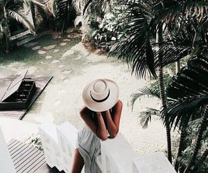 summer, beach, and white image