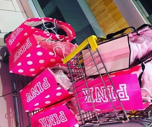 bags, pink, and victorias secret image