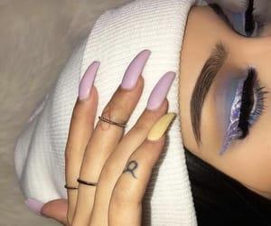 girl and nails image
