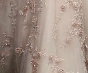 beige, Couture, and flowers image