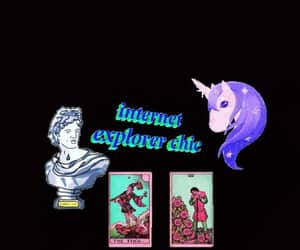tumblr, unicorn, and wallpapers image