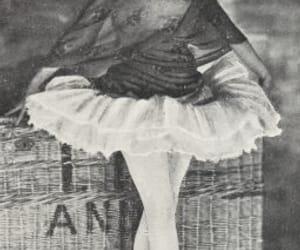 ballerina, dancer, and pavlova image