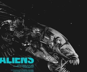 alien, horror movies, and aliens image