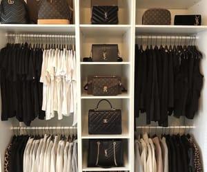 luxury, chanel, and closet image