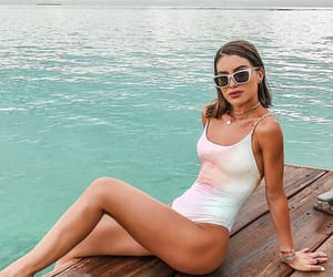 beach, beauty, and sexy image