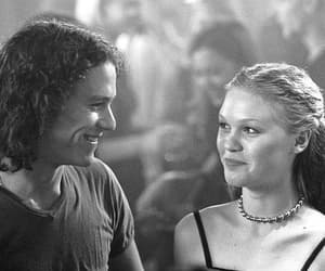 10 things i hate about you, Julia Stiles, and couple image