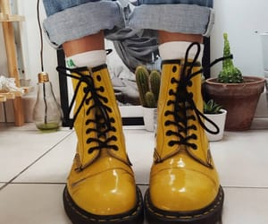 yellow, shoes, and boots image
