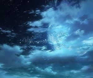 animation, blue, and night image