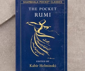 blue, book, and Rumi image