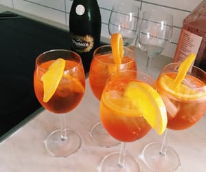 holiday, party, and aperol image